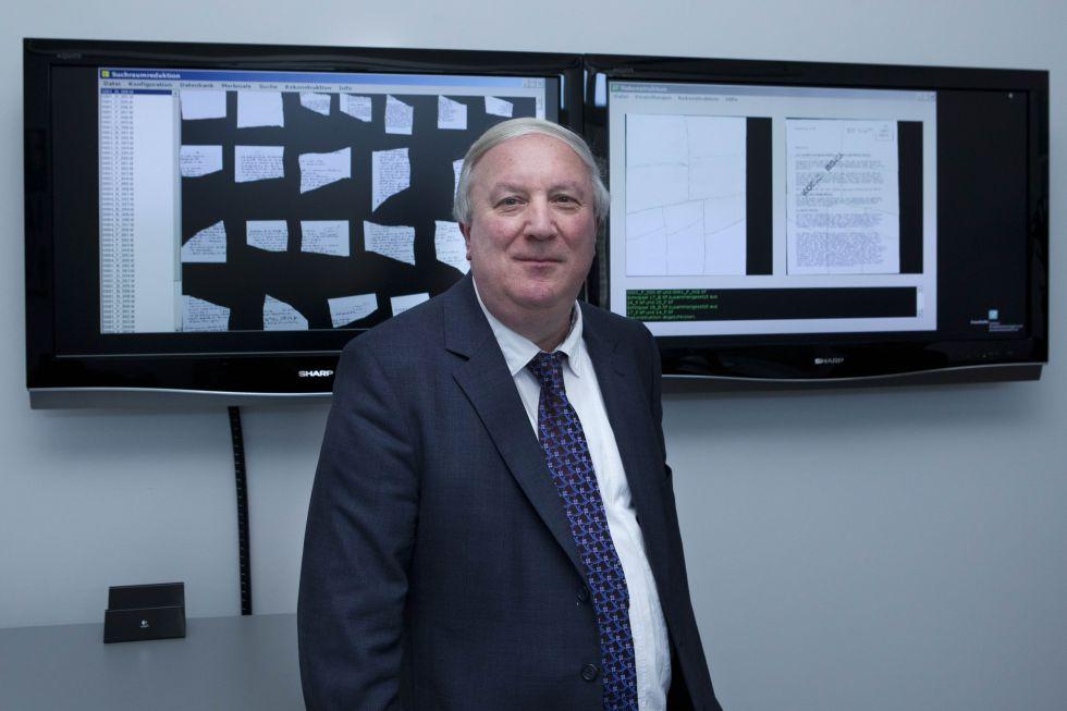 El ingeniero Bertram Nickolay